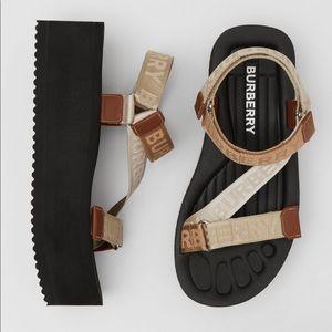 Burberry Patterson Sandals